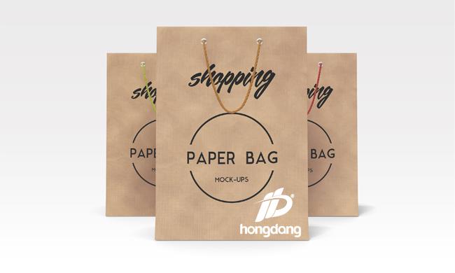 túi giấy cho shop quần áo